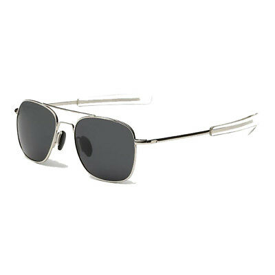 Polarized Sunglasses US American Military Pilot Bayonet Temples Retro Classical • 8.41£