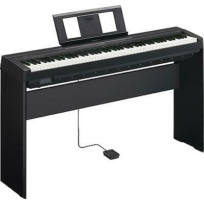 Yamaha P-45 88 Full Size Weighted Key Digital Piano + Stand + Sustain Pedal • 499.99£