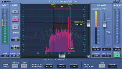 New Sonnox Oxford  SuprEsser DS HD Production Plugin AU VST AAX EDelivery • 263.87£