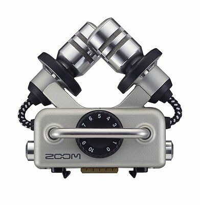 ZOOM Japan Shock Mounted XY Stereo Microphone Capsule XYH-5 H5 H6 Q8 Recorder • 86.72£
