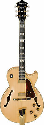 Ibanez George Benson Signature 6str Electric Guitar W/Case - Natural GB10NT • 2,766.14£
