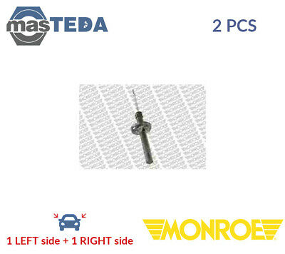 2x MONROE FRONT SHOCK ABSORBERS STRUTS SHOCKERS 11195 P NEW OE REPLACEMENT • 110.99£