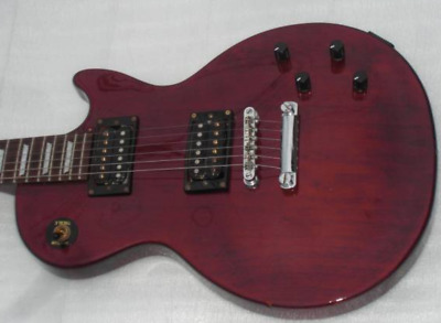 Epiphone By Gibson Les Paul Studio WR Slim Body See Thru Red Electric Guitar • 334.22£