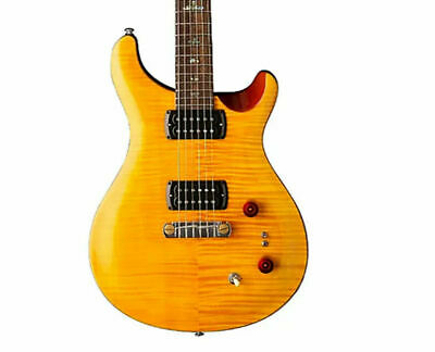 PRS SE Paul's Guitar Amber W/ Tobacco Back -DAddario Locking Tuners • 417.39£