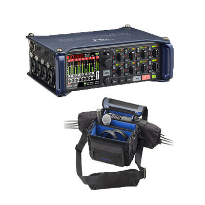 Zoom F8n MultiTrack Field Recorder + PCF-8n Protective Case For F8n,F8 And F4 • 799.44£