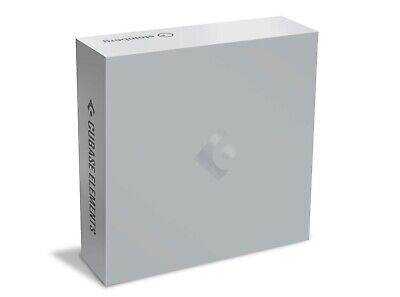 Steinberg Cubase Elements 10.5 - Windows C/W USB E Lisenser • 79.99£