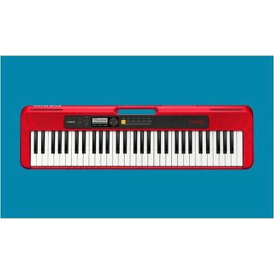 Casio CT-S200RD Casiotone Digital Keyboard Red CTS200 New • 123.25£