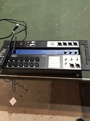 Soundcraft 5056219 Ui16 Digital Mixer Barely Used. Built In Router.FREE SHIPP • 191.08£