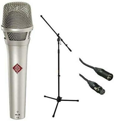 New Neumann KMS-105 NI Nickel Silver Vocal Condenser Microphone W/Free Items* • 538.59£