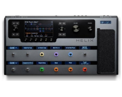 LINE 6 Helix Floor Space Gray Guitar Processor Multi-Effector Limited Edition • 1,836.05£