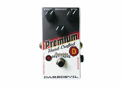 Daredevil Pedals Hand-Crafted Premium Overdrive V2 • 132.86£