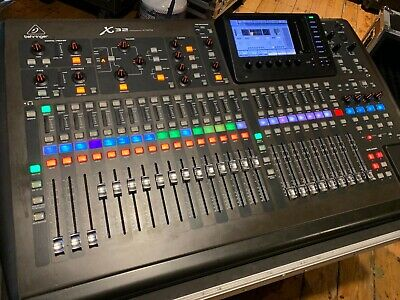 Behringer X-32 Digital Mixing Console Great Condition Roadcase And S16s Included • 1,616.64£