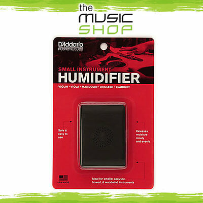 New D'Addario Planet Waves Small Instrument Humidifier - Violin, Ukulele Etc. • 14.07£