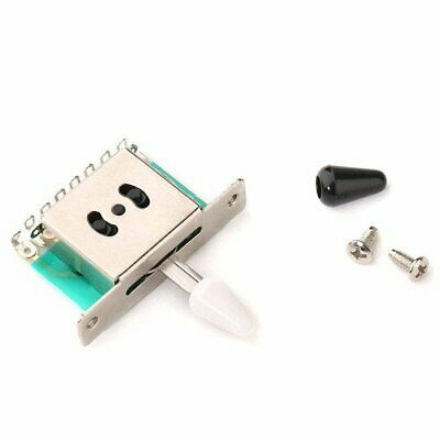 Switch 5 Way Pickup Selector Guitar Fender Toggle Tip Electric Stratocaster • 10.61£
