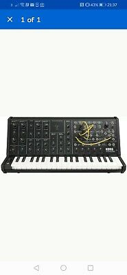 Korg MS-20 mini Semi-modular Analogue Synthesiser With Korg Ms20 Carry Case