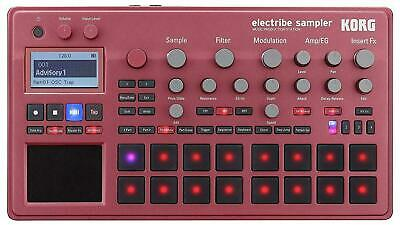 Korg electribe sampler RD ELECTRIBE2S-RD Metallic Red Music Production Station
