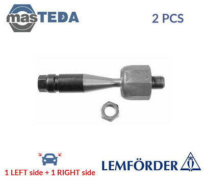 2x LEMFÖRDER FRONT INNER TIE ROD AXLE JOINT PAIR 21609 01 I NEW OE REPLACEMENT • 66.99£