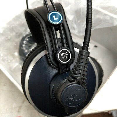 AKG HSC 271 Professional Headset With Condenser Microphone 885038028871 No Cable • 140.78£