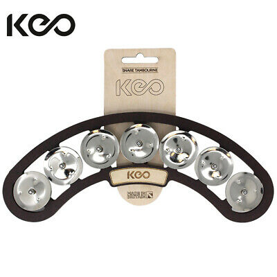 Keo Removable Snare Tambourine With Magnetic Attachment 7 Jingles KEO-SNR-TAM • 20.69£