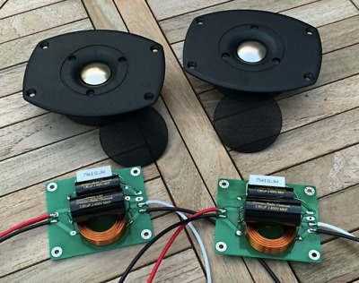 2 Sets (of 3) Of Genuine TANNOY HPD Gold 8 Ohm Speaker Crossover Inductors (558) • 170£