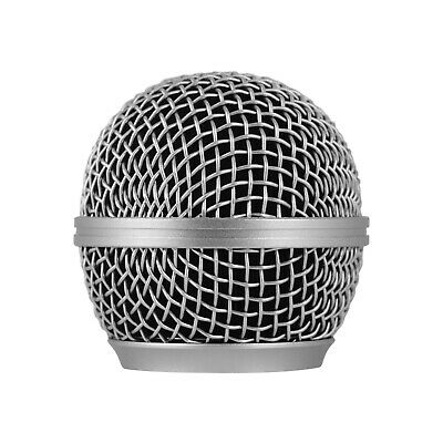 Microphone Grille Replacement Ball Head Compatible With Shure SM58/SM58S B0I7 • 3.80£