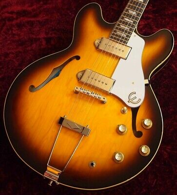 Epiphone Ltd Ed Elitist 1965 Casino Vintage Outfit Sunburst Sn T00994 2 70 Made • 2,530.57£