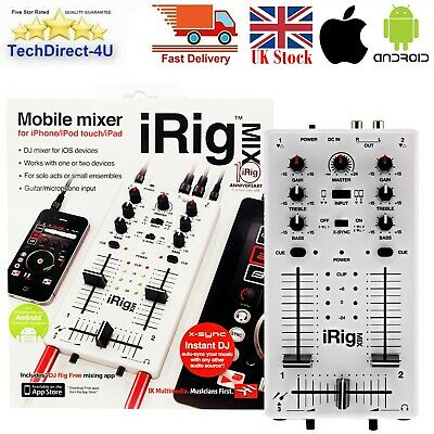 I Rig IK Multimedia IRig MIX Mobile Mixer For IPhone, IPad & Android Devices  • 49.89£
