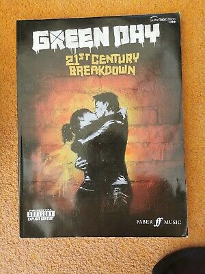 21st Century Breakdown Green Day Guitar Tab Edition Sheet Music Book Faber