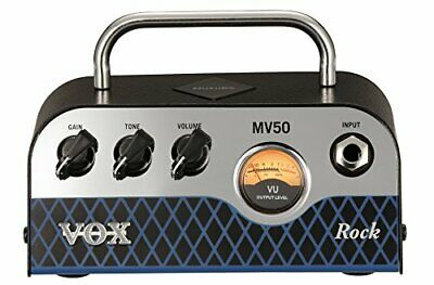 VOX Guitar Amp Head MV50-CR New Vacuum Tube Nutube Loaded MV50 Rock JAPAN #gh9 • 224.73£