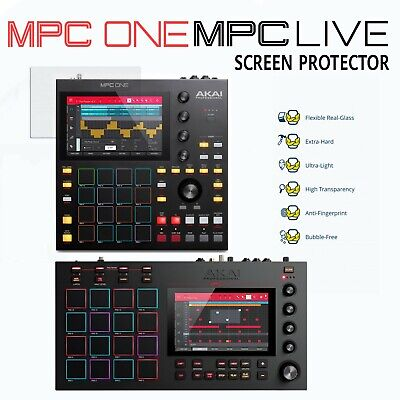 Akai MPC ONE / LIVE 1 & 2 Screen Protector (anti-smudge, High Sensitivity Glass) • 14£