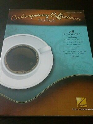 CONTEMPORARY COFFEEHOUSE SONGS: 48 Favorites Piano Vocal Guitar.  Hal Leonard  • 15.39£