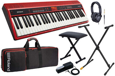 Roland / Go-61K Go Keys Stand Keyboard Bench Set Entry Yrk • 1,049.86£