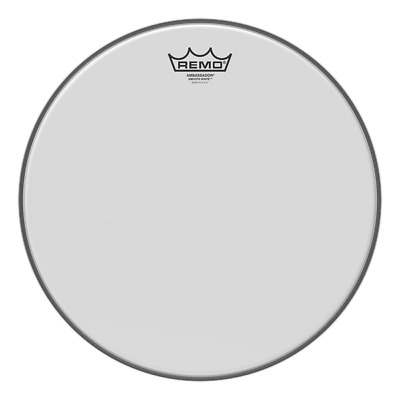 Remo 18  Ambassador Smooth White Bass Drum Head BR - 1218 - 00 FREE 24HR DEL. • 35£