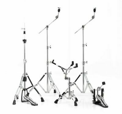 Mapex Mars HP6005 Chrome Five Piece Drummers Hardware Pack 24 Hour Free Delivery • 254.99£
