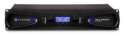 Crown Audio XLS 2002 Two-channel, 650W @ 4Ω Power Amplifier, Brand New • 425.13£
