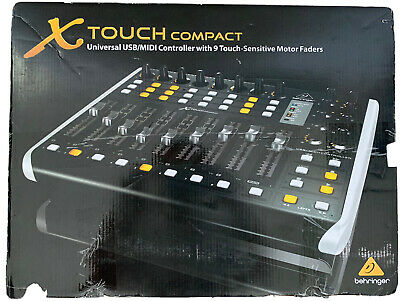 Behringer Compact X-TOUCH Universal USB/MIDI Controller, 9 Fully Automated 100mm • 150£