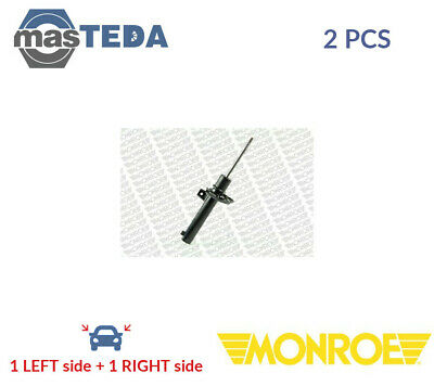 2x MONROE FRONT SHOCK ABSORBERS STRUTS SHOCKERS G16497 P NEW OE REPLACEMENT • 120.99£