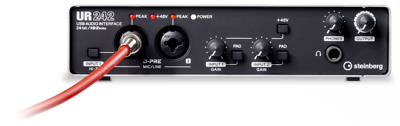 Steinberg UR242 Audio Interface USB 2.0 Audio I/O (4 In / 2 Out) • 162.93£