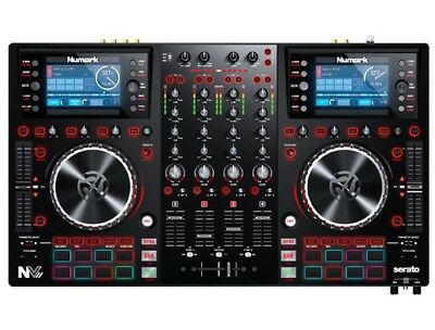 Numark NV II - 4-Channel Serato DJ Pro MIDI USB Controller NV2 NVII W/ Screens • 599£
