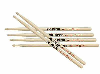 Vic Firth VF-5B Drum Sticks Three Pair Off FREE 24 hour delivery in most cases