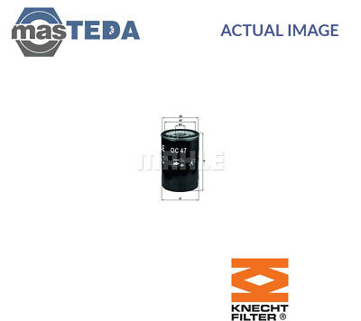 Knecht Engine Oil Filter Oc 47 Of I New Oe Replacement • 12.99£