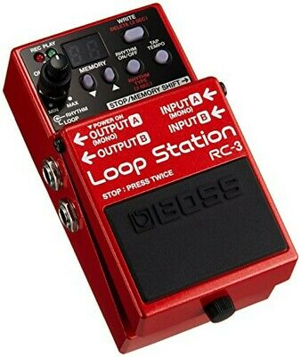 Boss RC-3 Guitar Loop Station Stereo Effect Pedal Brand New Free Ship W/Tracking • 177.49£