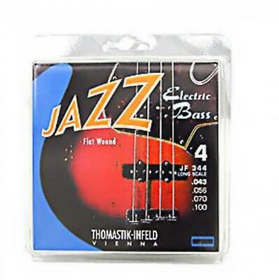 Thomastik-Infeld JF344 Flatwound JAZZ Electric Bass String Japan With Tracking • 91.22£