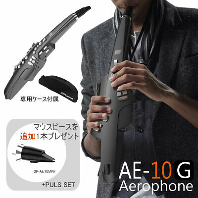 In Stock Roland / Aerophone Ae-10G Graphite Black Replacement Mouthpiece Gift • 1,358.23£