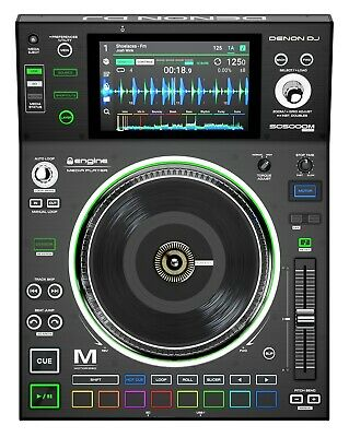 Denon SC5000M Prime Professional DJ Media Player With Motorized Platter Touch • 753.93£