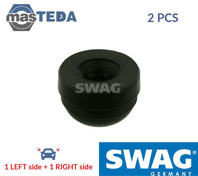 2x SWAG FRONT RUBBER BUFFER BUMP STOP PAIR 40 92 7848 G NEW OE REPLACEMENT • 21.99£