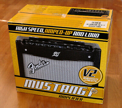 Fender Mustang I V.2 Guitar Amplifier With 8  Speaker  • 100.26£