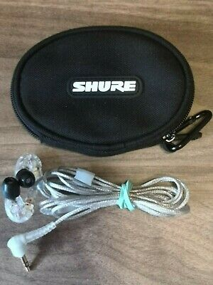 Shure SE215-CL Professional Over The Ear Earphones - Sound Isolating • 7£