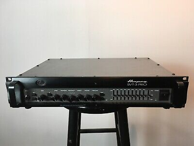 Ampeg SVT-3PRO Bass Guitar Amplifier Head - Excellent Condition, Studio Use Only • 335.68£