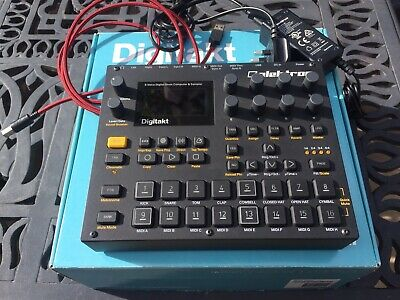 Elektron Digitakt Sampler Sequencer Drum Machine Midi • 370£